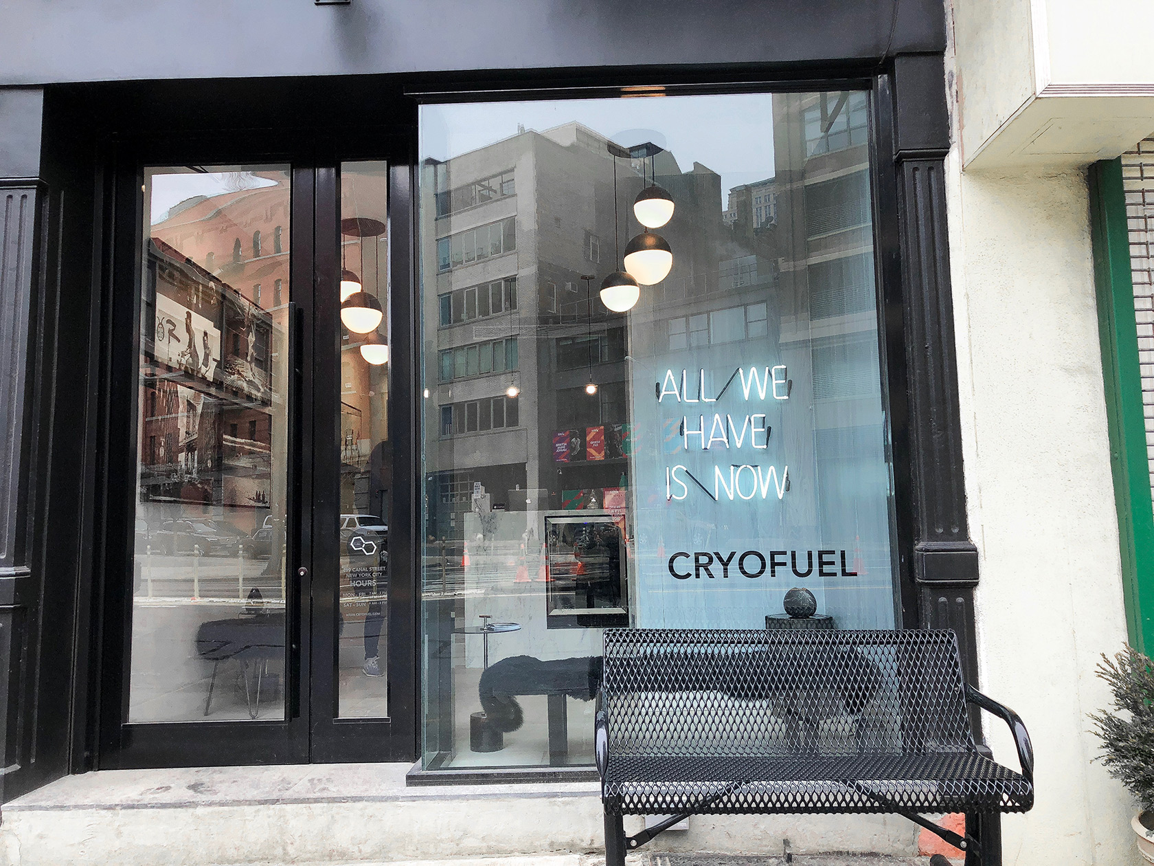 Cryo Fuel NYC Front Entrance