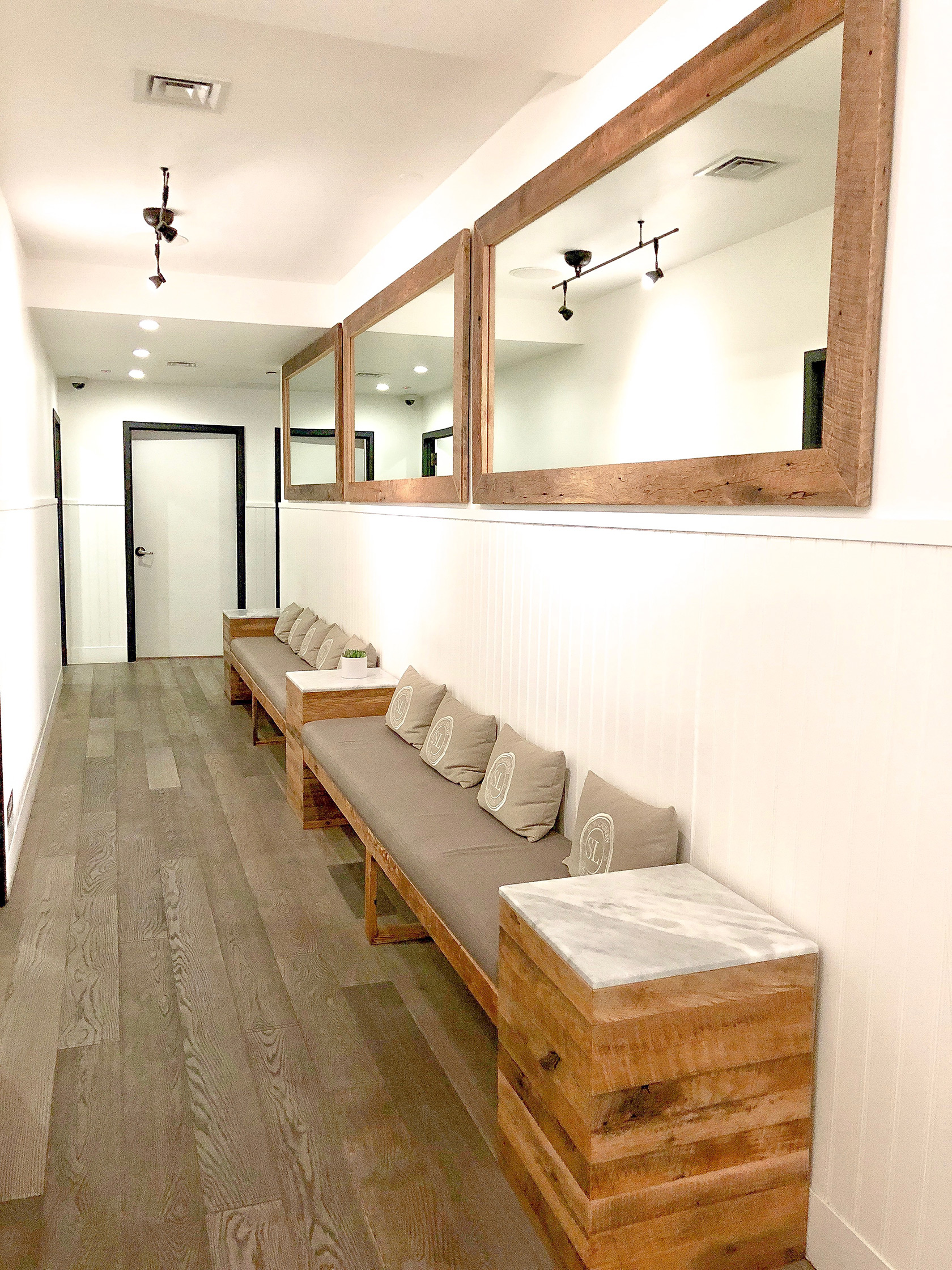 Skin Laundry Laser and Light Facial NYC Flatiron Waiting Area