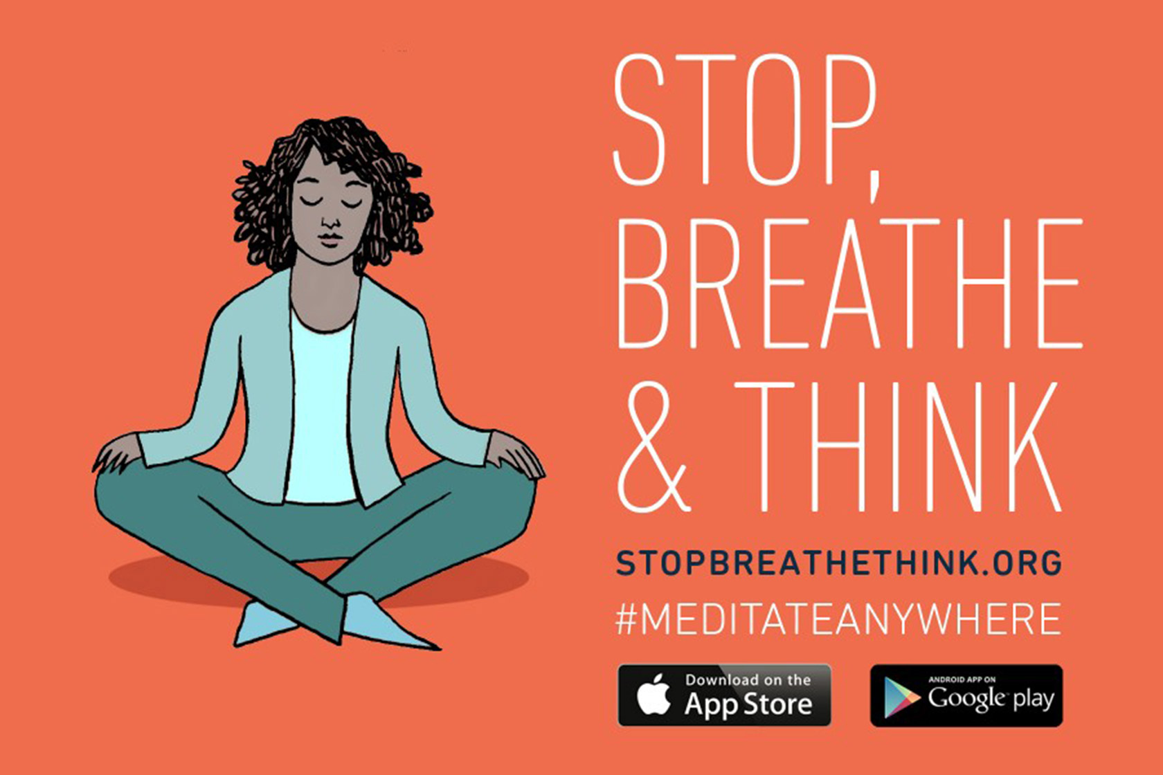 Stop, Breathe, Think Meditation App
