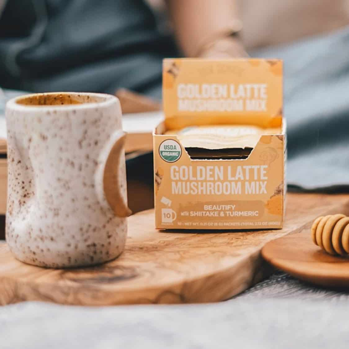 Four Sigmatic Golden Latte Mushroom Mix