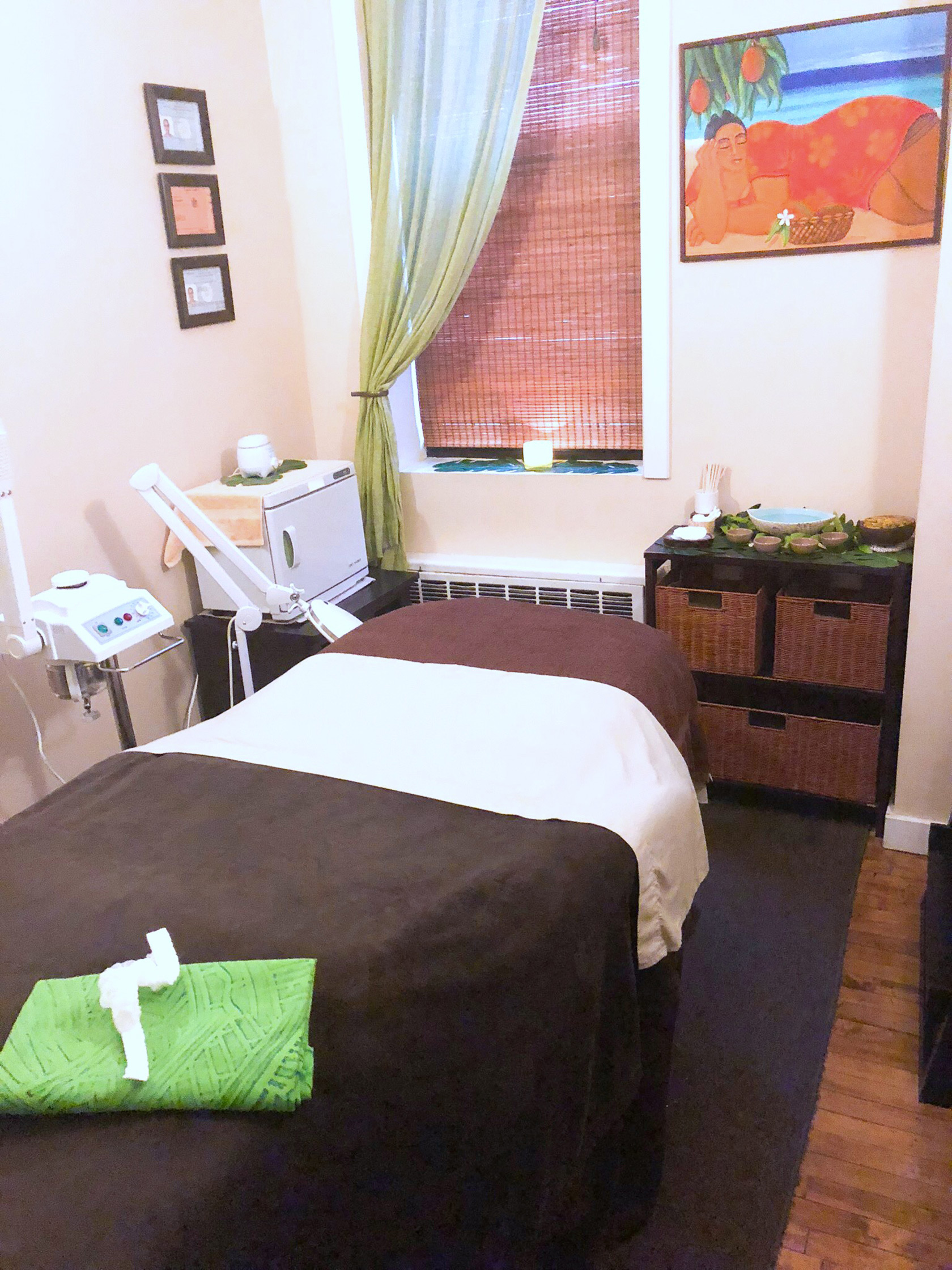 Pacific Touch NYC Treatment Room
