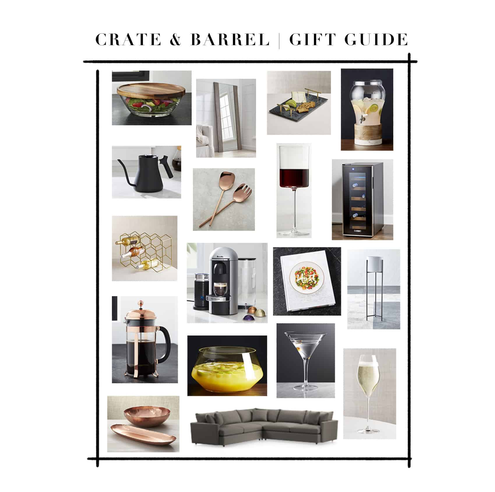 Crate & Barrel Gift Guide