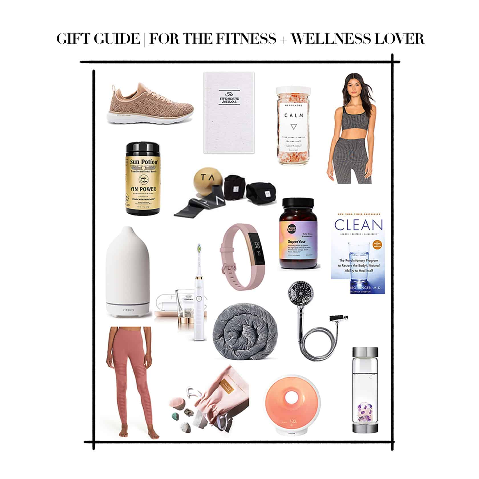 Gift Guide For The Fitness + Wellness Lover
