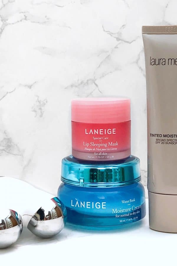 NuFace Laneige and Laura Mercier