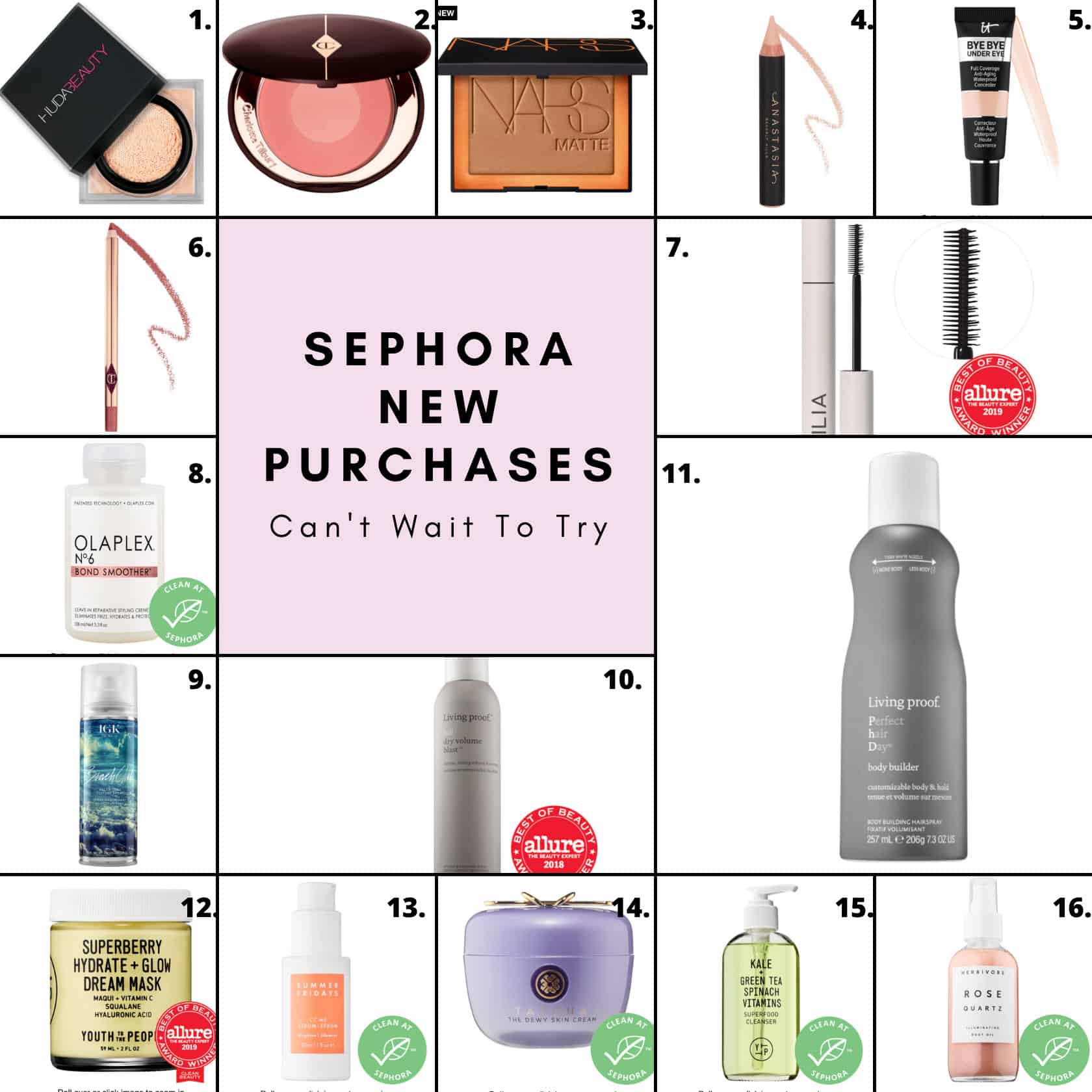 Favorite Sephora Products New Purchases