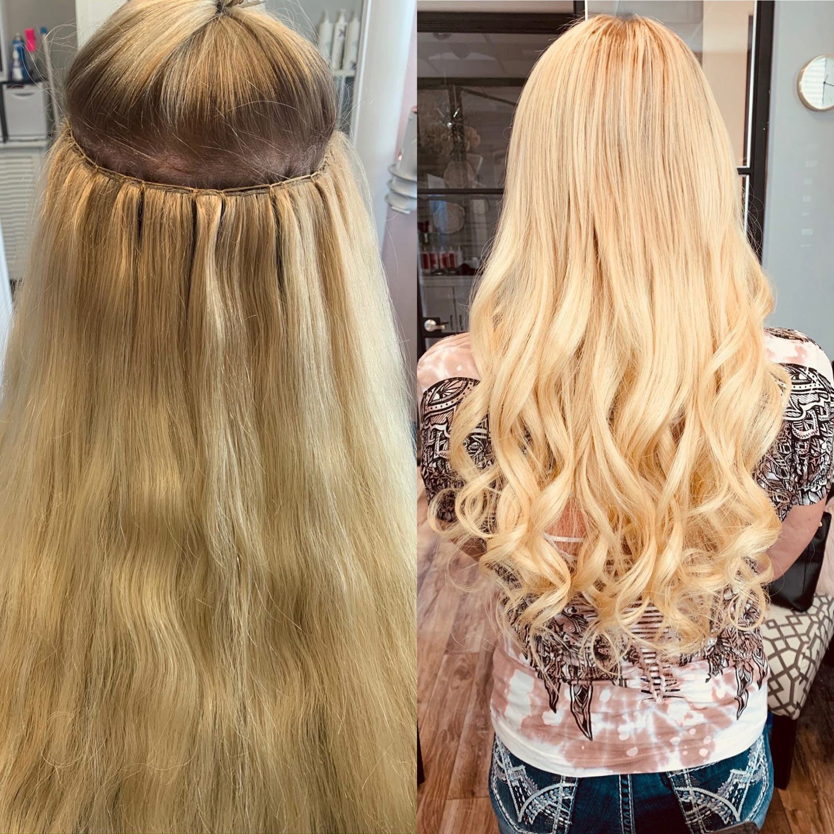 Weft Extensions