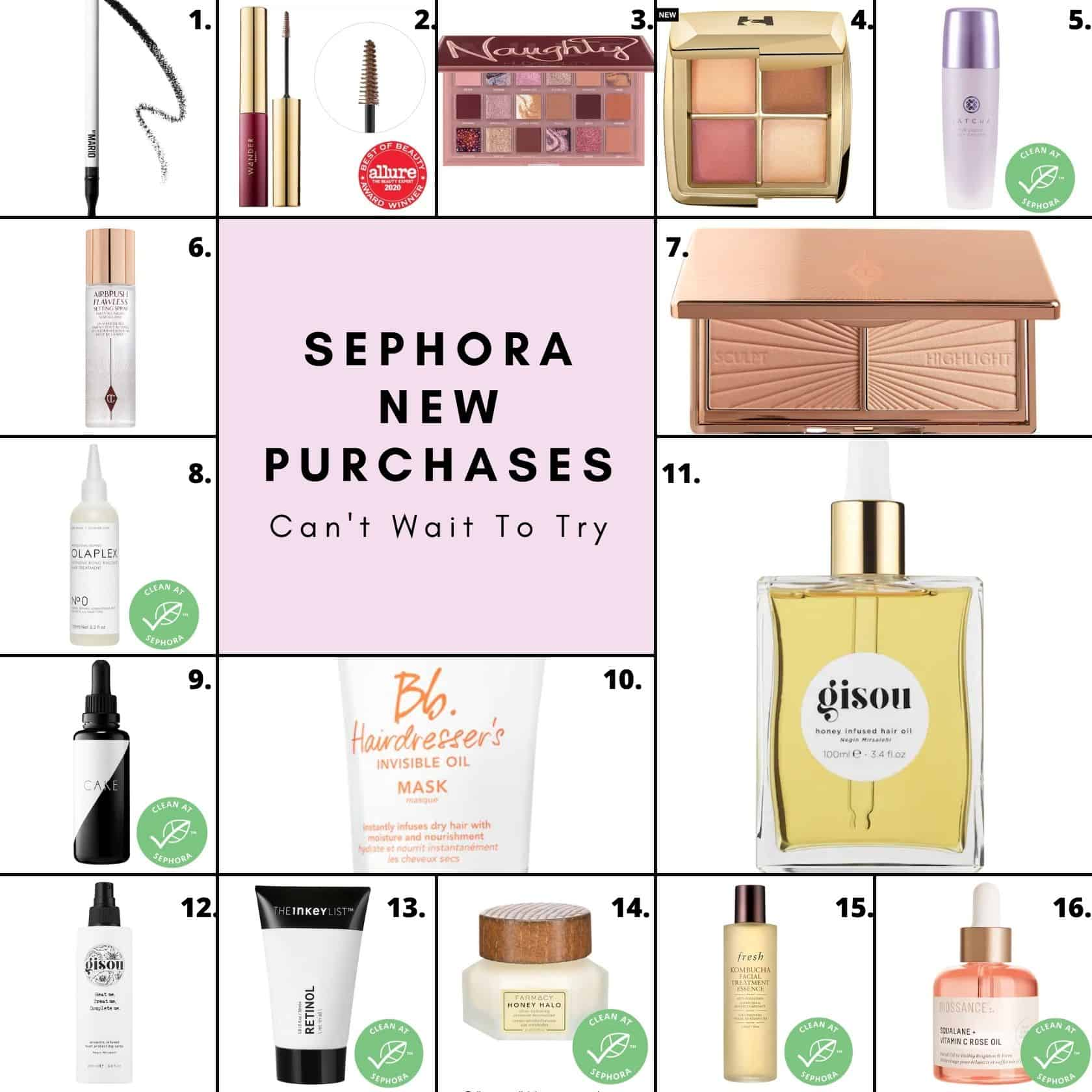 Sephora New Purchases